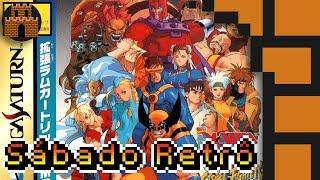 Sábado Retrô - X-Men Vs. Street Fighter (Saturn)