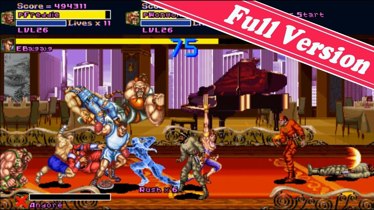 Top OpenBOR🔥 Final Fight Boss Full Version (Download)
