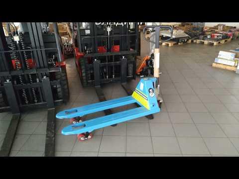 Ручная гидравлическая тележка - рохля TOR RHP (BF) Xilin: г/п 2.5т, вилы 1150мм / Hand Pallet Truck