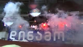 DINAMO ULTRAS PYRO (FC DINAMO TBILISI - FC ZESTAFONI 29/03/2014)