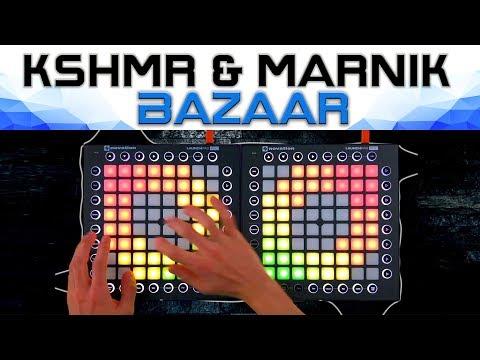 KSHMR & Marnik - Bazaar // Dual Launchpad Cover