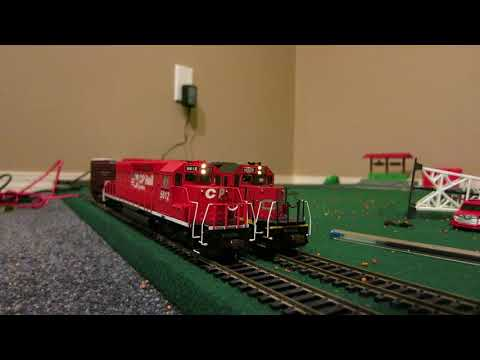 Layout Update: CN SD40-2  6023 and CP SD40-2 5612 (w DCC SoundValue)