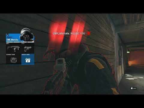 Rainbow Six Siege WITH TERRIBLE SOUND BUG 😢