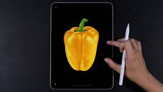Infinite Painter Digital Drawing Tutorial (Android friendly)