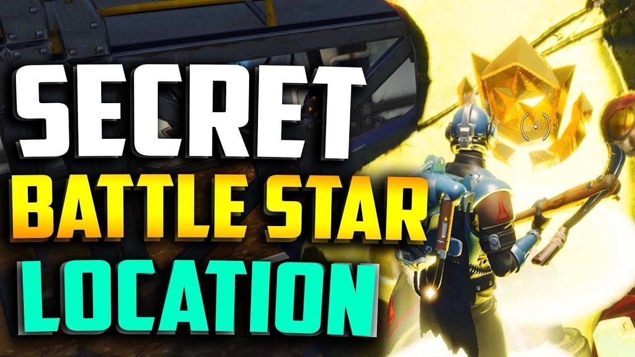 WEEK 7 SECRET BATTLE STAR LOCATION In FORTNITE   FORTNITE WEEK 7  BLOCKBUSTER BATTLE STAR LOCATION