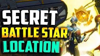 WEEK 7 SECRET BATTLE STAR LOCATION in FORTNITE - FORTNITE WEEK 7 BLOCKBUSTER BATTLE STAR LOCATION