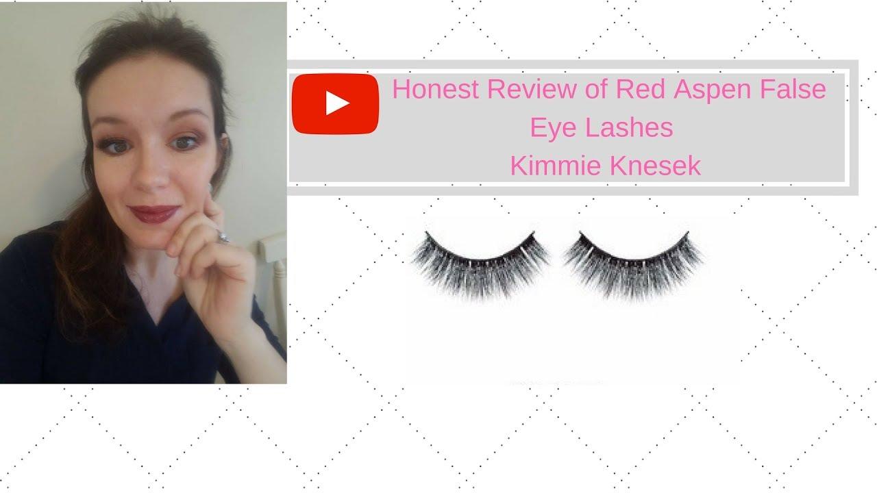 8a7b7dddc8c Honest Review of Red Aspen False Eye Lashes -Mina - YouTube