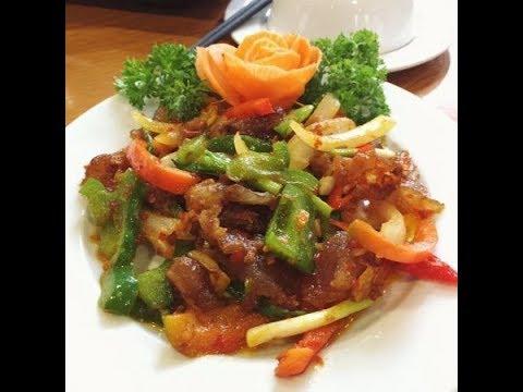 Cook - GÂN BÒ XÀO SATẾ kiểu nước Sệt Sệt