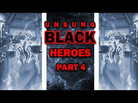 Unsung Black Heroes Part 4: (Wakanda Edition) Meet Marvel Comic's Nezhno Abedimi a.k.a. Gentle
