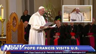 FNN: Pope Francis Visits St. Patrick's Catholic Church in DC