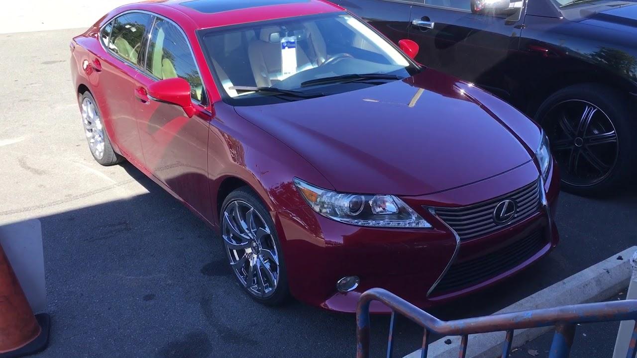 2014 Lexus ES 350 Sitting On 20 Azara AZA 507 Chrome