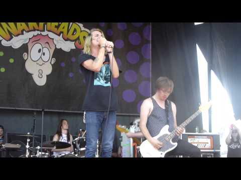 The Maine - Right Girl - Vans Warped Tour 2014 @ Ventura, CA  06 22 14