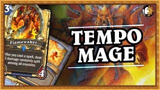 Hearthstone: Tempo Mage Is Crazy - Wild