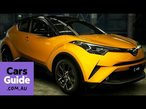 2017 toyota c hr australian spec revealed video youtube. Black Bedroom Furniture Sets. Home Design Ideas