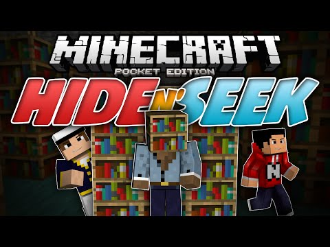 MORPHING SPECIALIST!!! - Hide N Seek (Block Hunt) MCPE  - Minecraft Pocket Edition