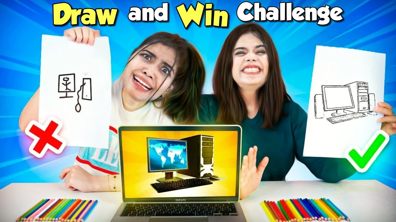 Who Draws It Better Take The Prize Challenge!! *FUNNY* 😂