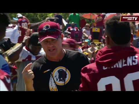 Redskins Training Camp Wired Up: Jay Gruden