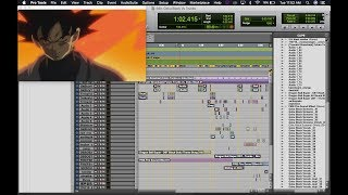 Goku Black Vs Future Trunks (Israel Murillo Dub) Fan Recreation Recreated On Pro Tools 12