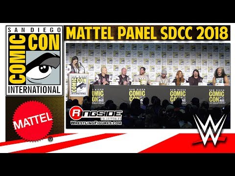 MATTEL WWE FULL PANEL - SDCC 2018 AJ STYLES, MATT HARDY
