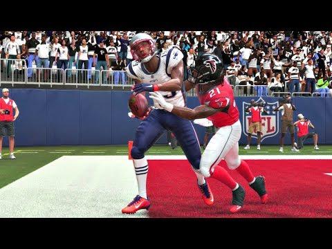 Madden 19 Gameplay - Atlanta Falcons Vs New England Patriots - Full Super Bowl Game (Xbox One)