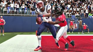 Madden 19 Gameplay - Atlanta Falcons vs New England Patriots - Full Super Bowl Game (Xbox One)