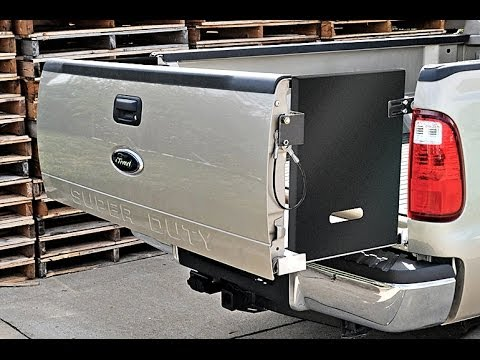 DeeZee Pickup Bed Extender - YouTube