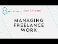 Managing Freelance Work