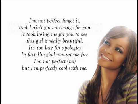 Christina Milian - I'm Not Perfect (with Lyrics!)