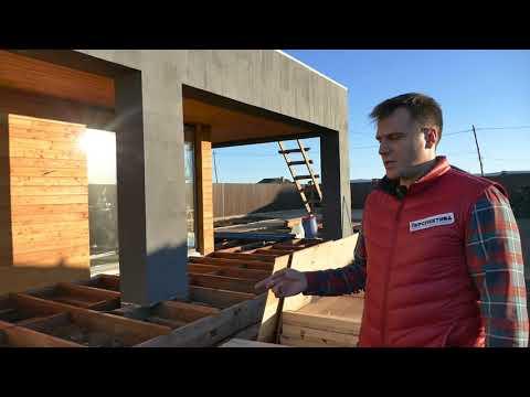 Хайтек дом в сибири, стройка, тестовый обзор | Красноярск