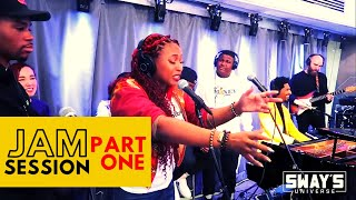 Jon Batiste Jam Session Part 1 with Mumu Fresh, DNA, Young Devyn, Stro and Nao Yoshioka