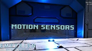 How To Set Up Motion Sensors (For Lights And Doors) | Empyrion: Galactic Survival
