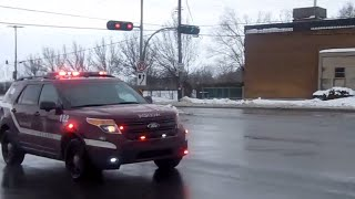 SIM Fire Truck and NEW Fire Chief Ford Explorer Utility Responding - January 19, 2015