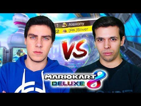 JUEGO CONTRA EL MEJOR JUGADOR DE MARIO KART 8 DELUXE DE ESPAÑA | SLIVER vs ALEXONY | Nintendo Switch