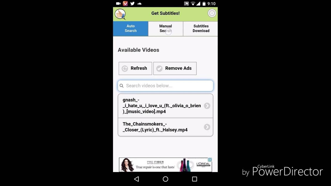 how to use yify subtitles android