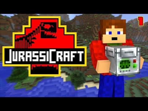 Jurassic Craft | Český Let's Play #01 [Porty]