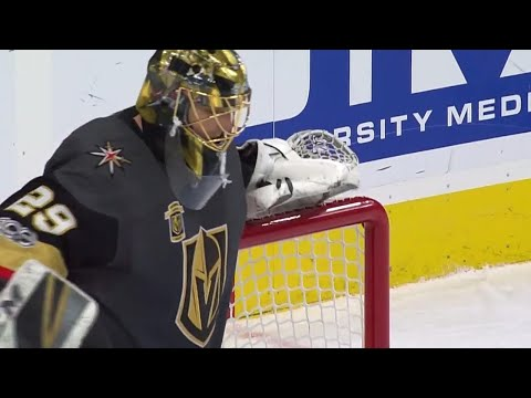 Saves of the Month: Fleury flashback & Price outdoor acrobatics