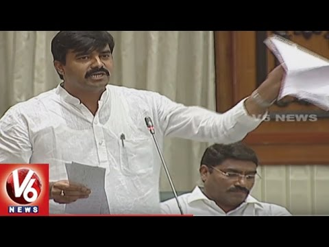 Question Hour On Education And Health Department   TS Assembly Session   V6 News