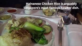 Singapore Airlines SQ 305 Business Class LHR to SIN Part 2 Meals Lunch Tea Breakfast