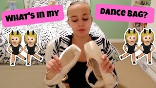 What's in my dance bag?