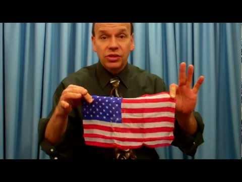 American Flag Blendo Trick From MagicTricks.com