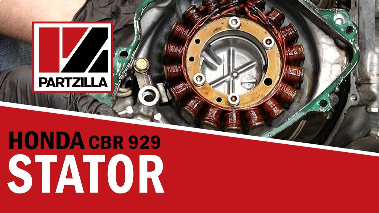 Honda CBR Stator Replacement | Honda CBR929 | Partzilla.com on