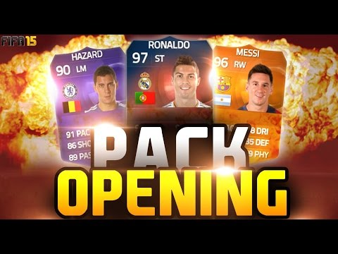FUT 15 | Pack Opening | CRISTIANO RONALDO RECORDBREAKER !?