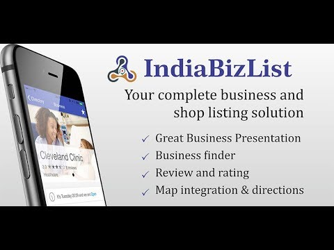 Indiabizlist - Indian business directory Android App Introduction