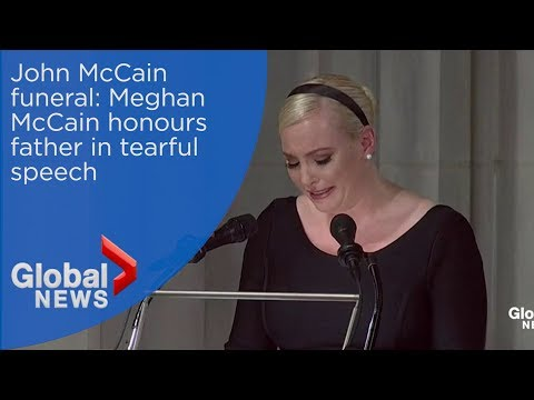 Đám tang của John McCain: Meghan McCain vinh danh người cha trong lễ tang ở Washington, DC