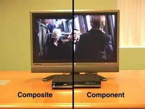 Hdmi Component And Composite Comparison Youtube