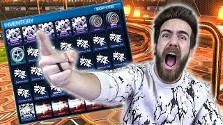 """ROCKET LEAGUE TRADE UPS! """"OUT WITH THE OLD AND IN WITH THE NEW"""""""
