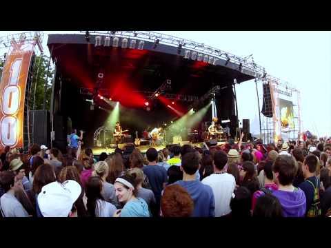 Born Ruffians - Hummingbird & Oh Man (live @ SOM '12)