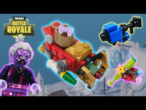 Lego Fortnite - (Galaxy, Snowball Launcher, Perfect Present And Tactical Sleigh)