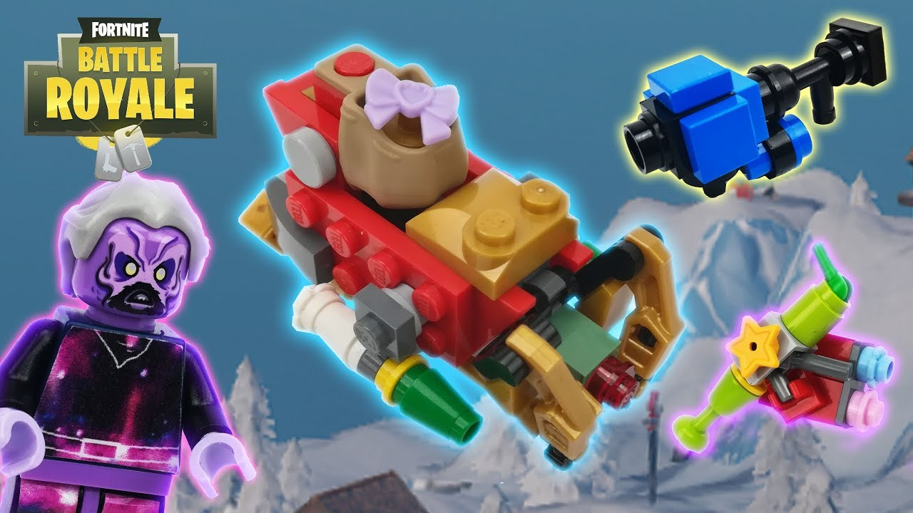 lego fortnite galaxy snowball launcher perfect present and tactical sleigh lego tryx - lego fortnite tryx