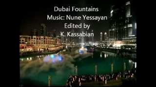 Dubai Fountains with Armenian Music
